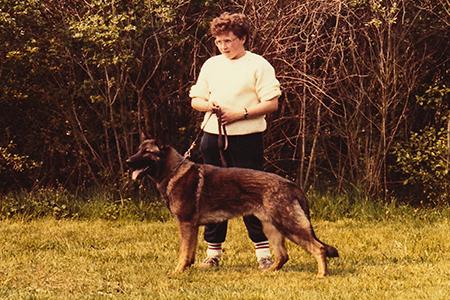 Mijn eerste eigen hond, de Duitse Herder Wolff